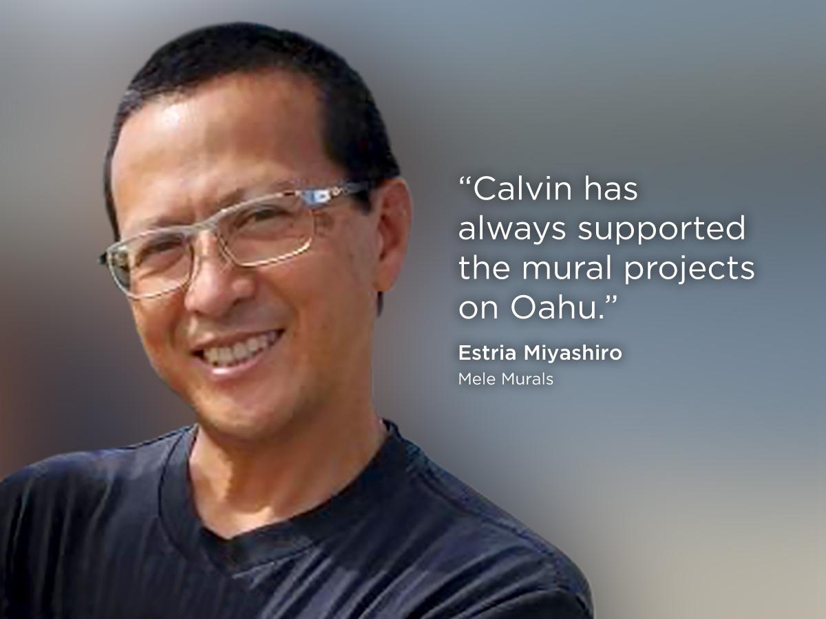 Estria Miyashiro supports Speaker Emeritus Calvin K.Y. Say for Honolulu City Council!